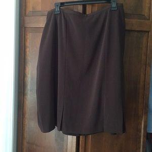 Norton Mcnaughton brown skirt